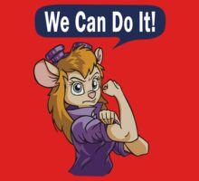 We Can Do It Baby Tee