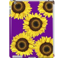 Ipad case - Sunflowers Purple Haze iPad Case/Skin