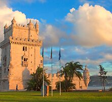 Torre de Belém. sunset by terezadelpilar~ art & architecture