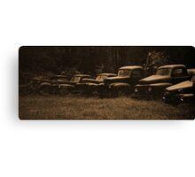 old trucks Canvas Print