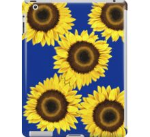 Ipad case - Sunflowers Dark Blue iPad Case/Skin