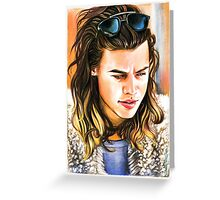 Harry Styles-Vest Greeting Card