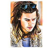Harry Styles-Vest Photographic Print