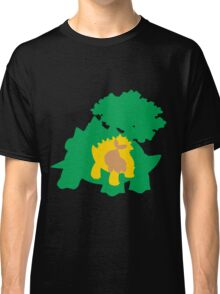 PKMN Silhouette - Turtwig Family Classic T-Shirt
