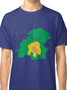 PKMN Silhouette - Turtwig Family Classic T-Shirt