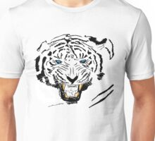 Vector Blue-Eyed Tiger  Unisex T-Shirt