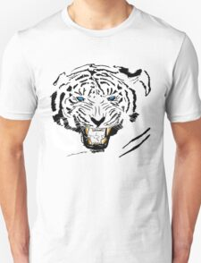 Vector Blue-Eyed Tiger  T-Shirt