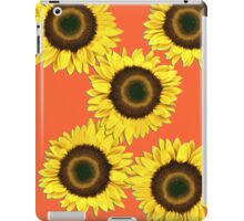 Ipad case - Sunflowers Sunset Orange iPad Case/Skin