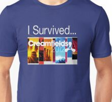I survived Creamfeilds 2012 Unisex T-Shirt