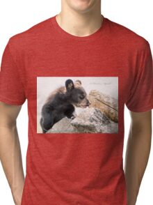 Little Cub Tri-blend T-Shirt