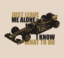 Kimi Raikkonen - Just Leave Me Alone by oawan