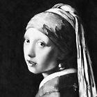 iPad Case - Vermeer Pencil Study by Jan Szymczuk