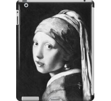 iPad Case - Vermeer Pencil Study iPad Case/Skin