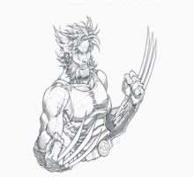 Wolverine sketch by jjy2k