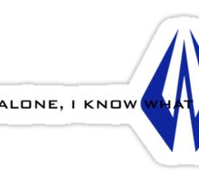 Kimi Raikkonen - I Know What I'm Doing! - Finnish Colours Sticker