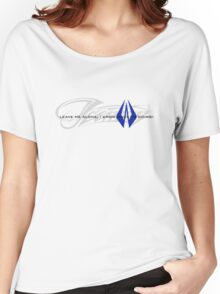 Kimi Raikkonen - I Know What I'm Doing! - Iceman - Finnish Colours Women's Relaxed Fit T-Shirt