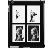 iPad Case - Vermeer Pencil Study 4 x 4 Black iPad Case/Skin
