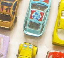 Toy Cars Sticker