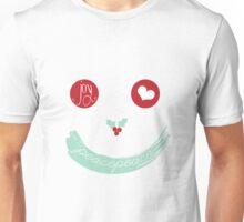 Christmas Peace Love Joy Holiday Smiley Unisex T-Shirt