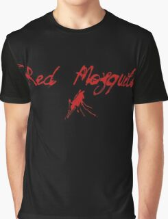 Red Mosquito Graphic T-Shirt