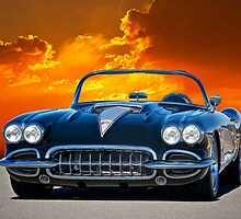 1958 Corvette Roadster by DaveKoontz