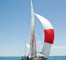iPhone Sailboat by wolftinz