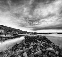 Broken    Bowling Harbour, Bowling, Scotland by Anir Pandit