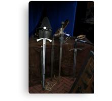 3 Swords & 2 Hats Canvas Print