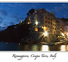 From Italy with love - Riomaggiore, Cinque Terre, Italy by Martin Stringer