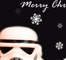 Trooper Christmas card Sticker