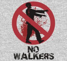 No Walkers by stevebluey