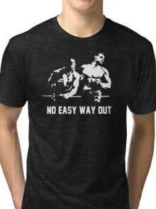 Rocky no easy way out Tri-blend T-Shirt