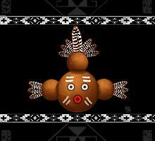 Mudhead Kachina by Susan Sowers