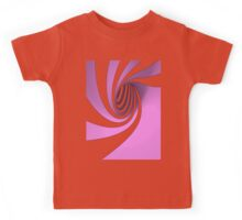 Purple Swirl Kids Tee