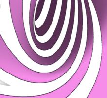 Purple Swirl Sticker