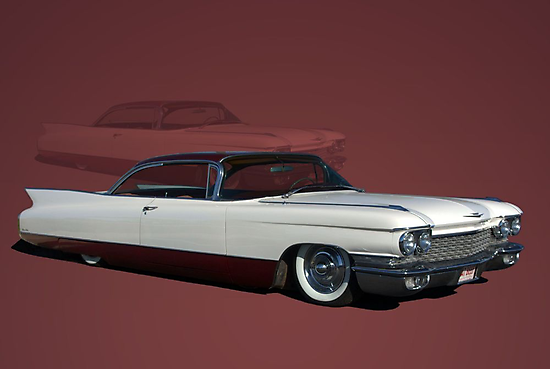 1960 Cadillac Coupe DeVille Low Rider by TeeMack