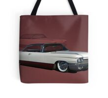 1960 Cadillac Coupe DeVille Low Rider Tote Bag