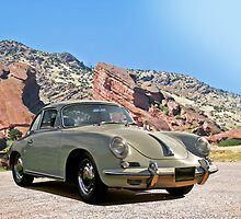 Vintage Porsche at Red Rocks by DaveKoontz