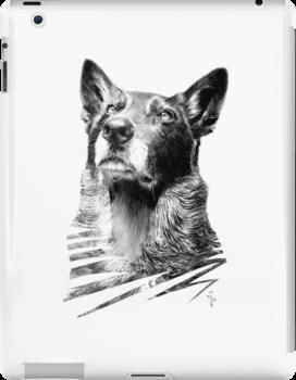 iPad Case - Jed by Jan Szymczuk