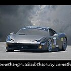 Something Wicked - Ferrari by DaveKoontz