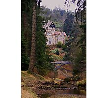 Cragside Hall Photographic Print