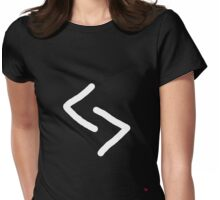 Jera symbol Meaning Rune of harvest and reward Womens Fitted T-Shirt