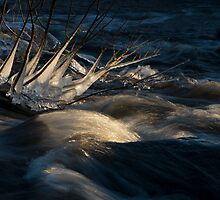 Icy flow by ilpo laurila