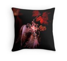 To The World A King Is Borne Throw Pillow