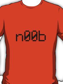 n00b (Black) T-Shirt