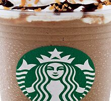 Starbucks Frappuccino iPad case by Jnhamilt
