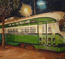 SF Trolley by jadlart