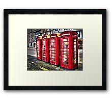 Ripon Boxes Framed Print