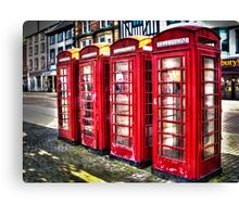 Ripon Boxes Canvas Print