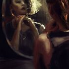 looking in the mirror  by maroodesigns